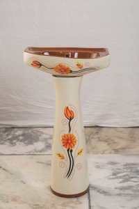 Printed Round Wash Basin
