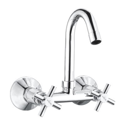 Sink Wall Mixer With J Spout
