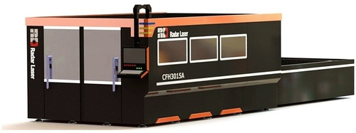 Fiber Laser Cutting Machine and Automatic Interchangeable with Bracketingt