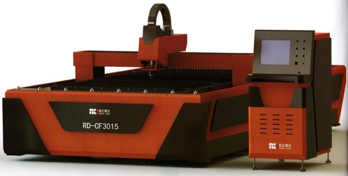 Fiber Laser Cutting Machine With Single Workbench