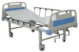 HOSPITAL BED FOWLER (ABS PANELS & SAFETY SIDE RALING).