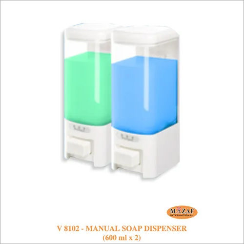 Manual Soap Dispenser (600ml x 2)