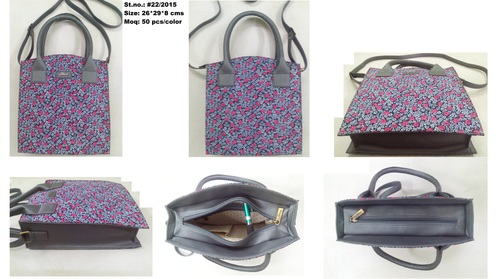 Classic Grey Ladies Bag