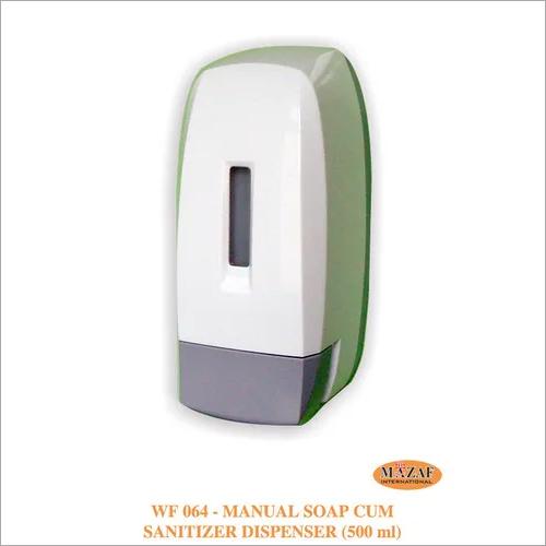 Manual Soap cum Sanitizer Dispenser (500ml)