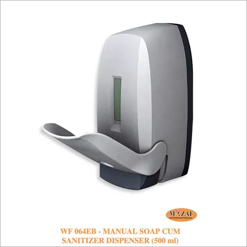 Manual Soap cum Sanitizer Dispenser Elbow (500ml)
