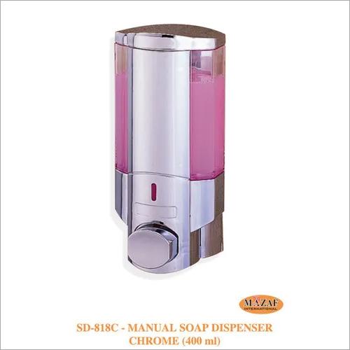 Manual Soap Dispenser Chrome (400ml)