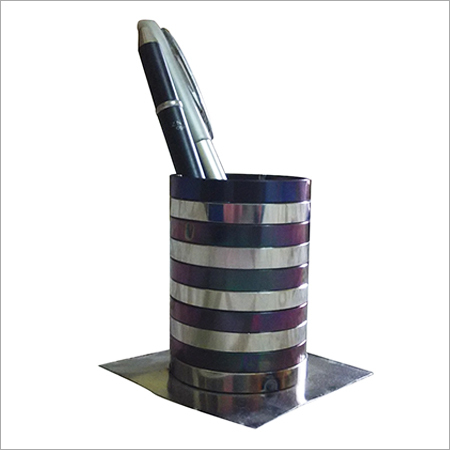 Stainless Steel Pen Stand