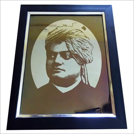 Stainless Steel Swami Vivekanad Portrait