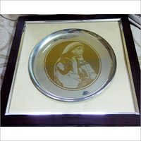 Stainless Steel Mother Teresa Portrait
