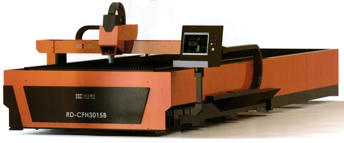 Fiber Laser Cutting Machine With Automatic Interchangeable 500w
