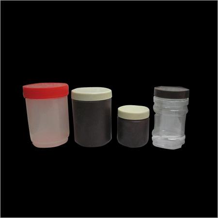 Plastic Protein Jar
