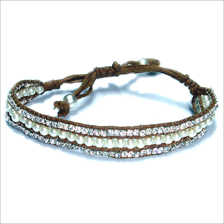 Ladies Designer Glassstone Bracelets