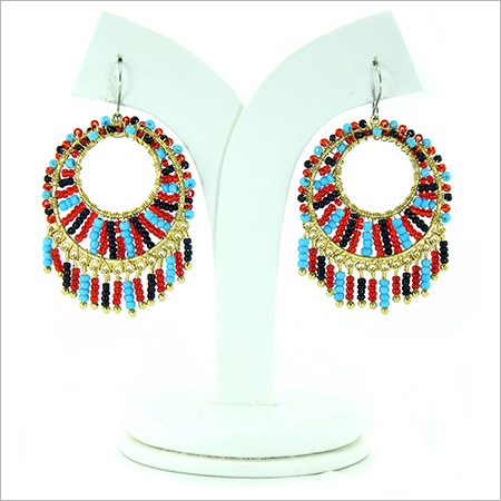 Designer Beaded Earring