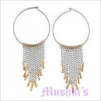 Mushkis Hoop Fashion Earring