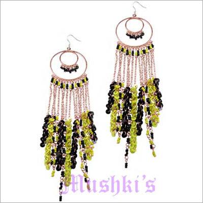 Mushkis Long Fashion Earring