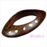 Hand Painted Wooden Bangles