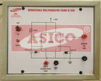 Monostable Multivibrator Using IC 555