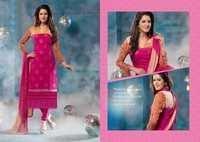 Pinky  Pure Chiffon Resham Work Salwar Kameez
