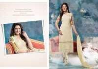 Creammy Pure Chiffon Resham Work Salwar Kameez