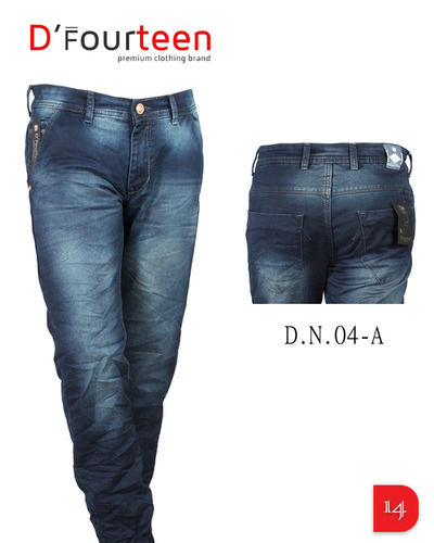 KNEE RUGGED MENS JEANS