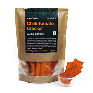Baked Chilli Tomato Cracker