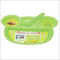 Plastic Baby Food Plate