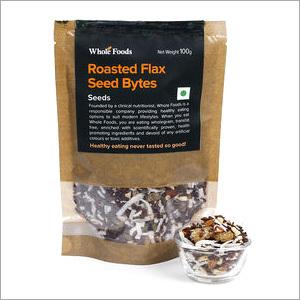 Roasted Flax Seeds Bytes