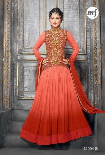 ATTRACTIVE DESIGNER ANARKALI SUIT