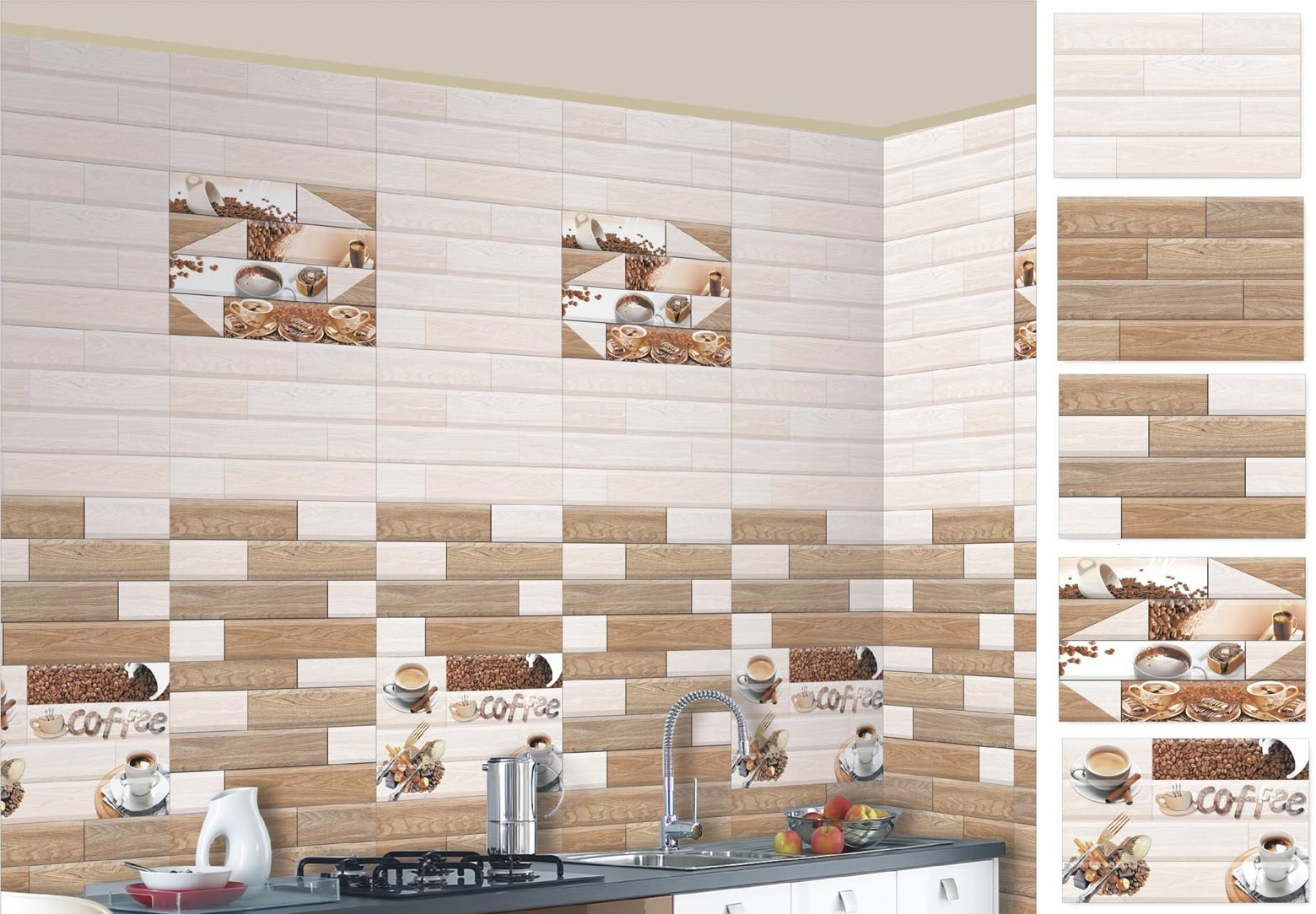 12 X 18 Kitchen Wall Tiles