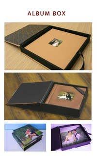Digital Photo Album Box