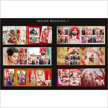 Indian Photo Album Designing
