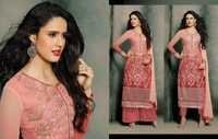 Mohini Pink Georgette Embroidered Salwar kameez