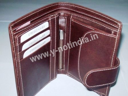 Bifold Vintage Leather Wallet