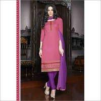 Maroon Regular Wear Embroidered Cotton Salwaar Kameez