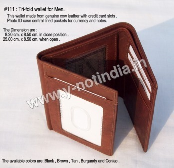 RFID Mens Leather Wallets