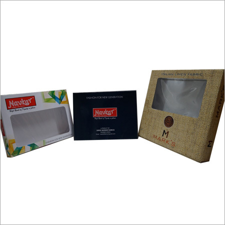 Fabric Paper Packaging Boxes