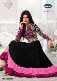 Eid Speical Magenta Anarkali Suit