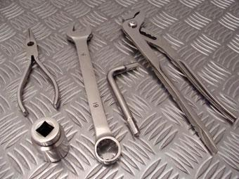 PACE Stainless Steel Tools