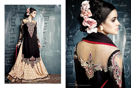 Embroidered Indian Suits
