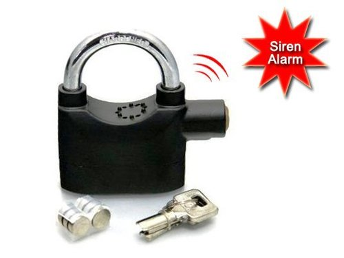 Alarm Lock with Alarm Siren