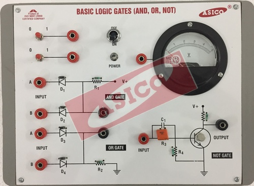 Basic Logic Gates using Discrete Component (5 in 1)
