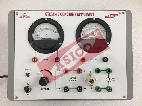 Stefan Constant Apparatus