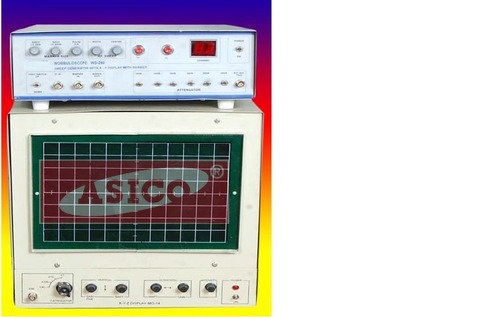 Sweep Generator With X-Y Display With Marker