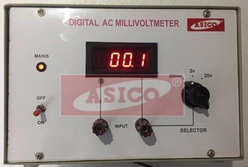 Digital AC Millivoltmeter