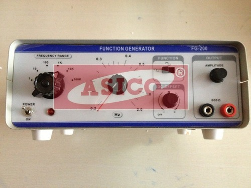 Audio Frequency Function Generator 1Hz to 200KHz