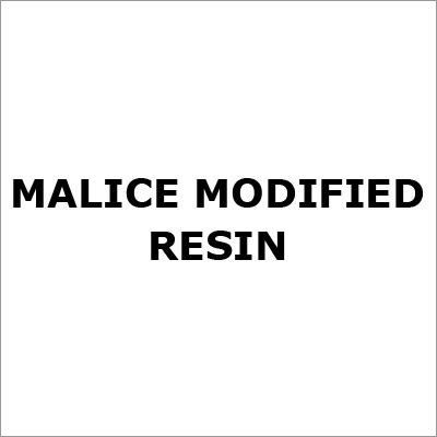 Malice Modified Resin