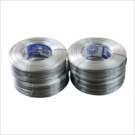 Galvanized Flat Stitching Wire