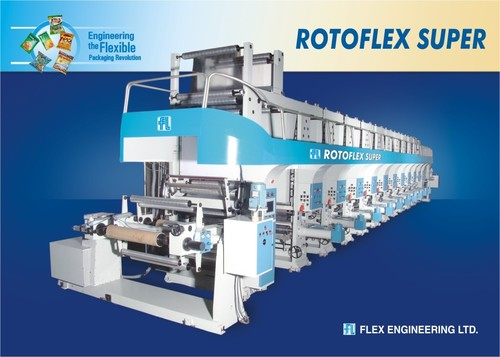 Rotogravure Printing Machine Super