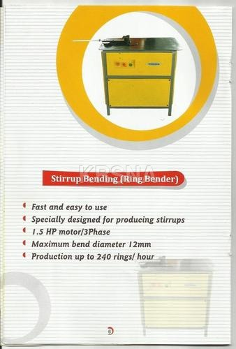 Stirrup Bending/Ring Bending Machine (Mechanical)