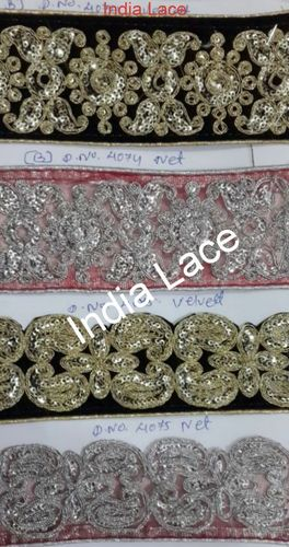 Embroidery Sequence Lace